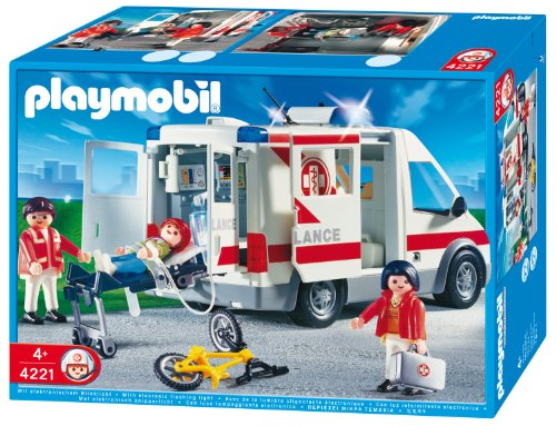 PLAYMOBIL 4221 - Rettungstransporter