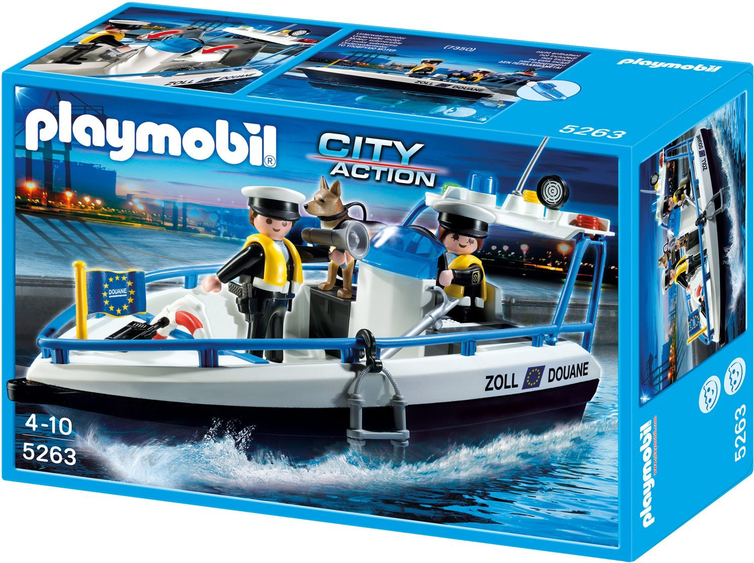 Playmobil Zollboot