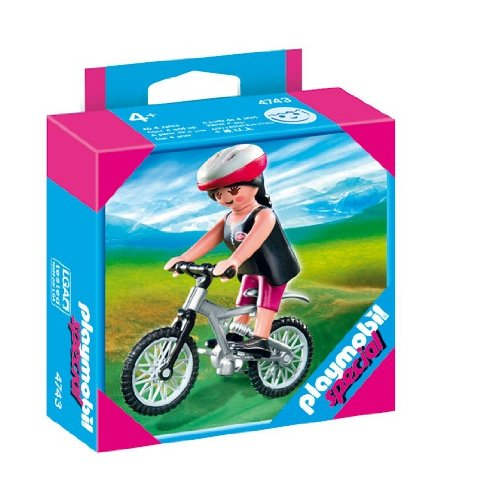 Playmobil Mountainbikerin