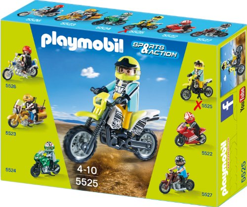 PLAYMOBIL 5525 - Cross Bike